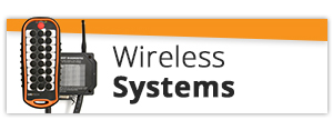 Off the Shelf Wireless Hydraulic Controls