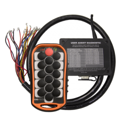 Programmable 15 Button Macro System