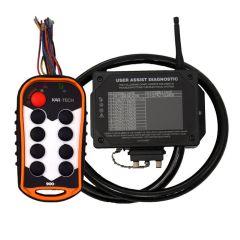 8 Button 900MHz Long Range MACRO System