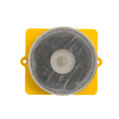 Guider Battery Cover with Magnets, Yellow