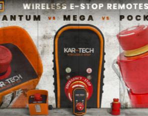 Kar-tech E-stop transmitter