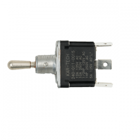 3 Position Single Pole Toggle Switch (ON)-OFF-ON