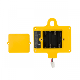 GUIDER Back Cover with 4 AA Battery Housing-Yellow (no magnet)-White Connector