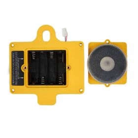 GUIDER Back Cover with 4 AA Battery Housing-Yellow with Magnet-White Connector