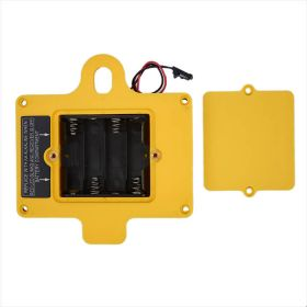 GUIDER Back Cover with 4 AA Battery Housing-Yellow (no magnet)-Black Connector