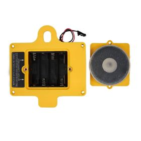 GUIDER Back Cover with 4 AA Battery Housing-Yellow with Magnet-Black Connector