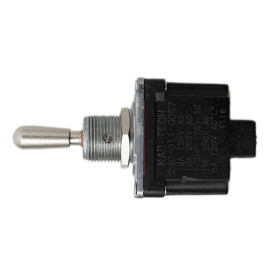3 Position Single Pole Toggle Switch (ON)-OFF-(ON) with Screw terminal