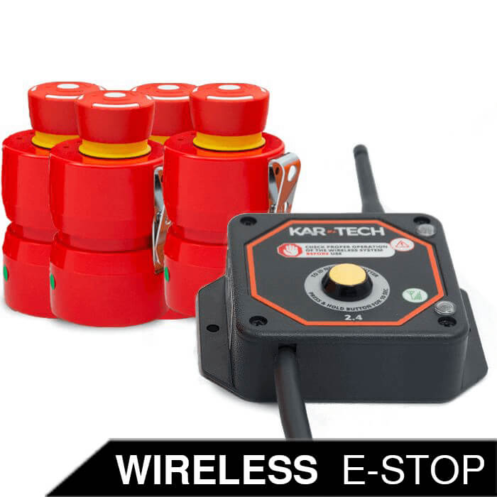 Wireless E-stop