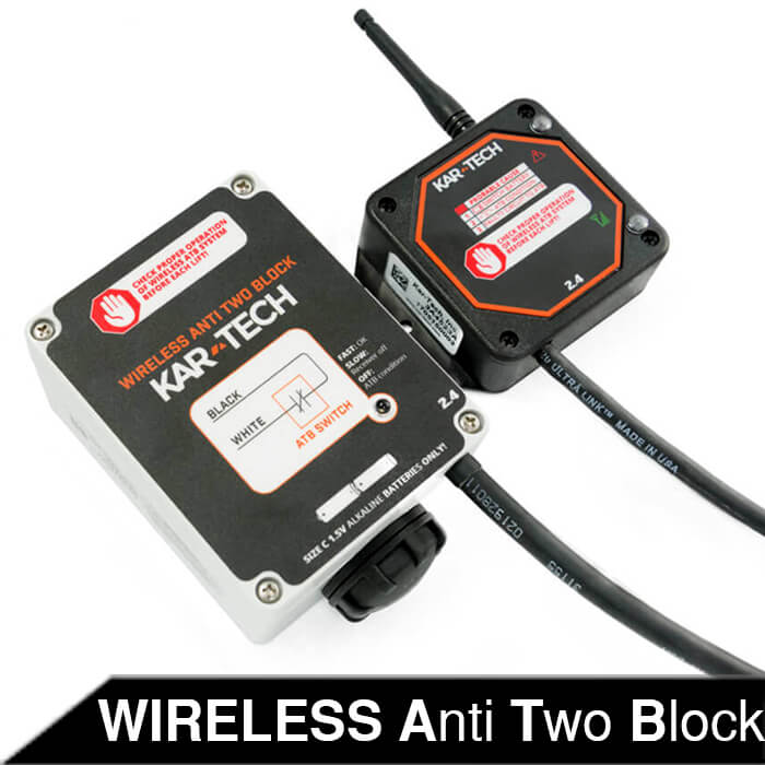Wireless Anti-Two Block Switch